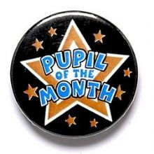 Pupil Of The Month Badge
